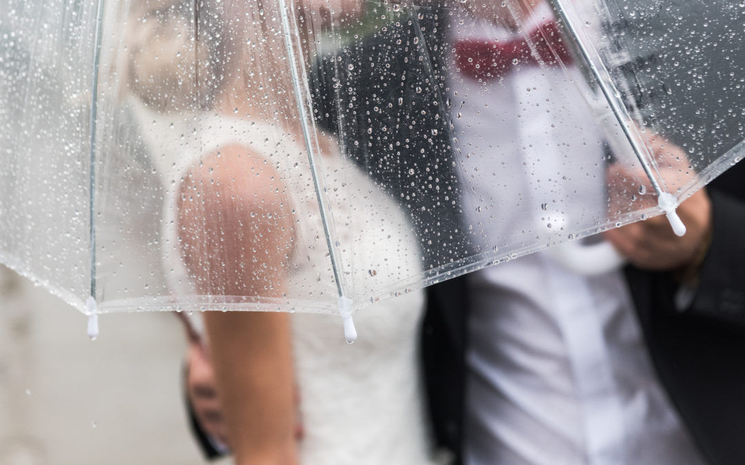 Don't let rain stop your wedding day from being perfect