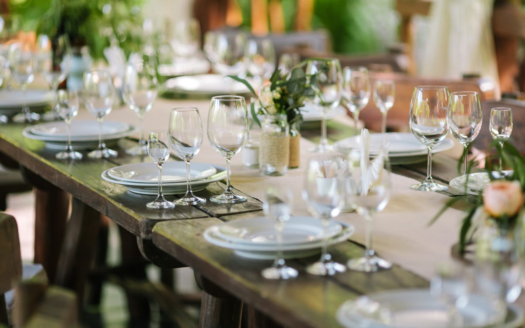 The Four Pillars of Planning a Rehearsal Dinner